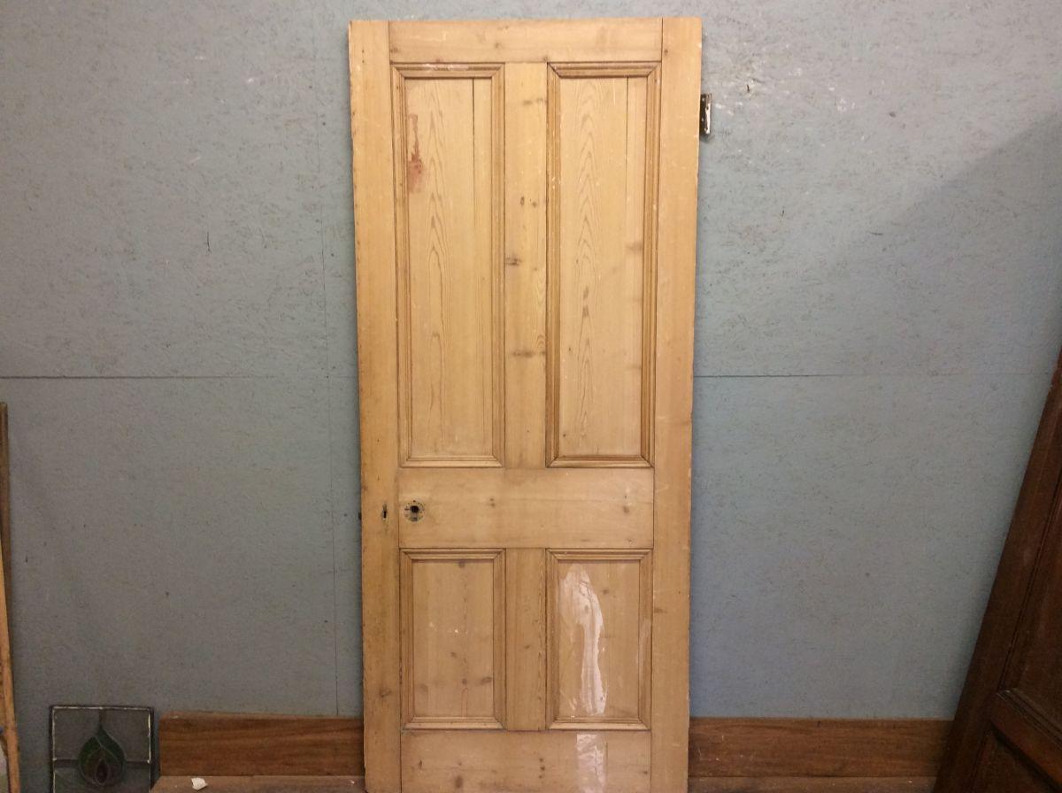 Big Solid 4 Panel Door