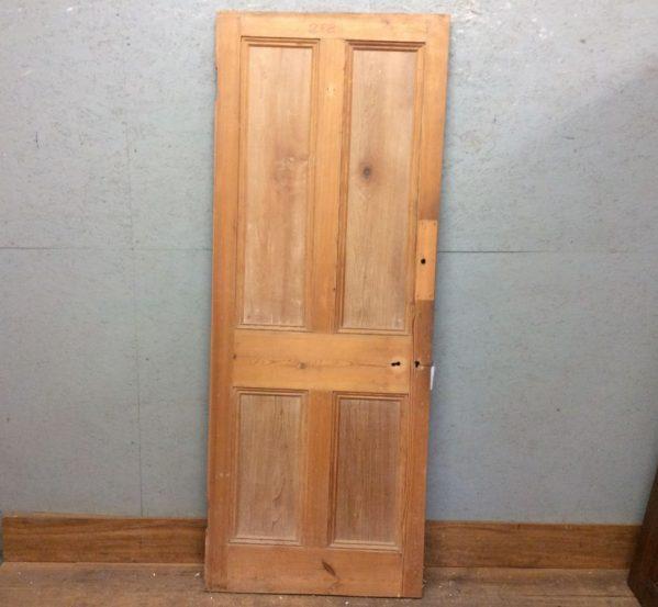 4 Panel Pine Door Strippedd