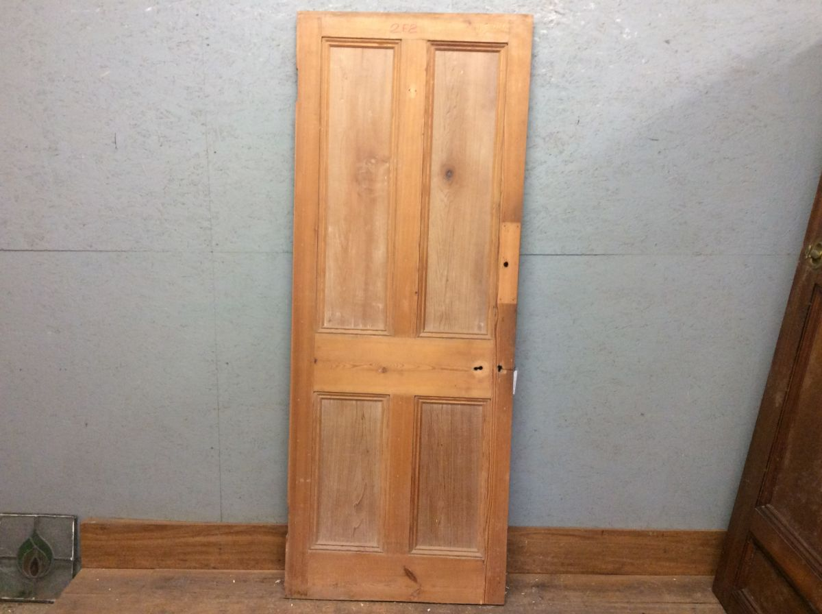 4 Panel Pine Door Strippedd