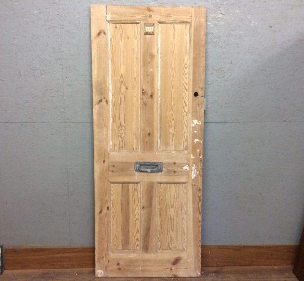 Strippedd 4 Panel Pine Door