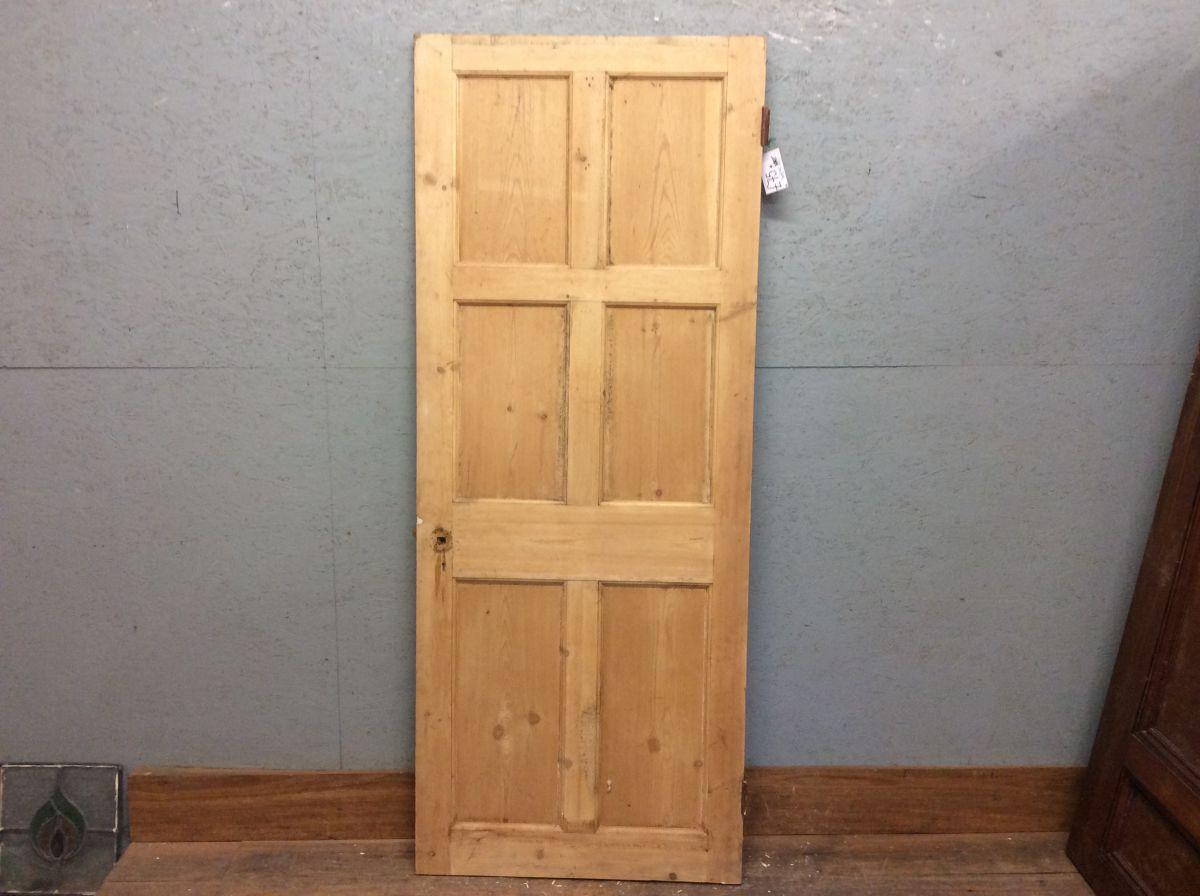 Reclaimed 6 Panel Door (2 Over 2 Over 2)