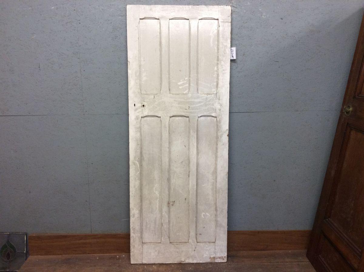 Six Panel White Door