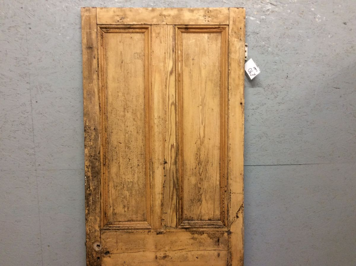 4 Panelled Pine Door Stripped