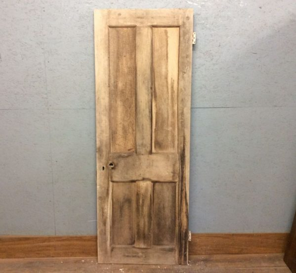 4 Panel Pine Door Stripped
