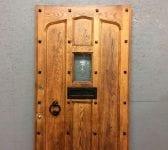 Old Style Oak Front Door