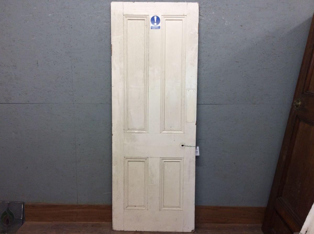 4 Panel Pine Door Paintedd