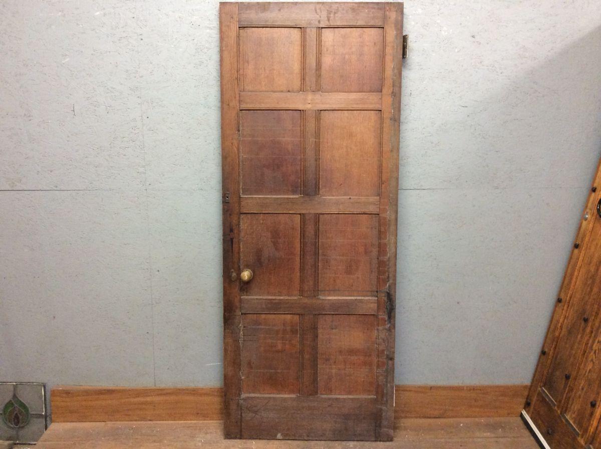 Oak Gloss Heavy 3 Panel Door