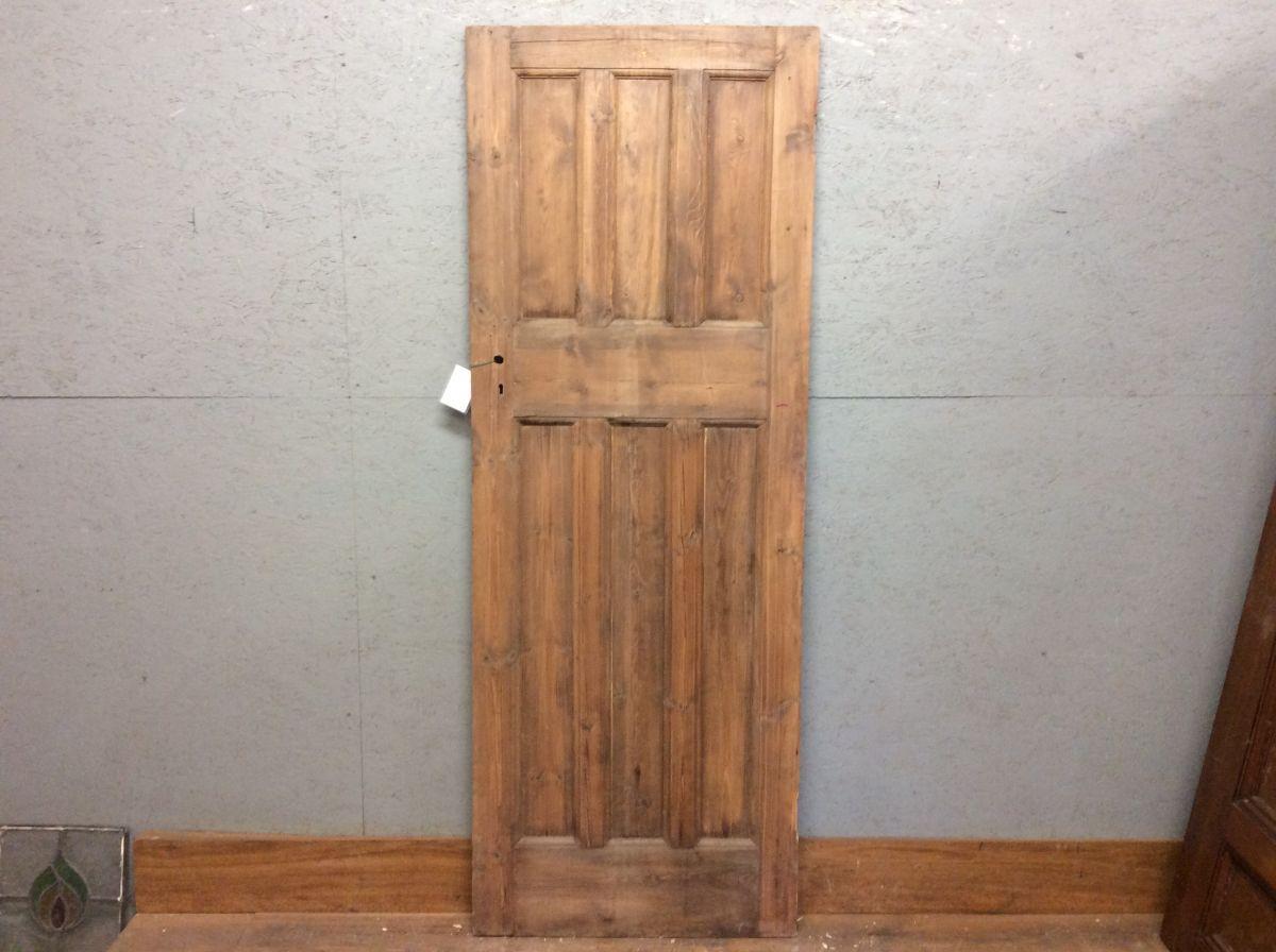 Stripped Six Panel Door