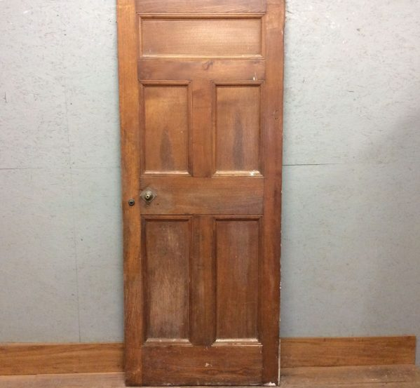 Antique 5 Panel Oak Door