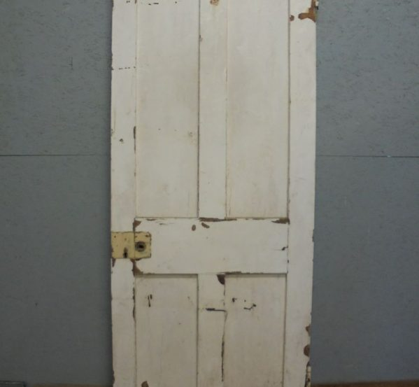 Pine Door 4 panel painted cream