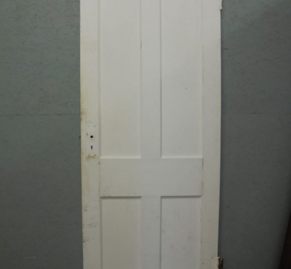 4 Panel Pine Door painted white