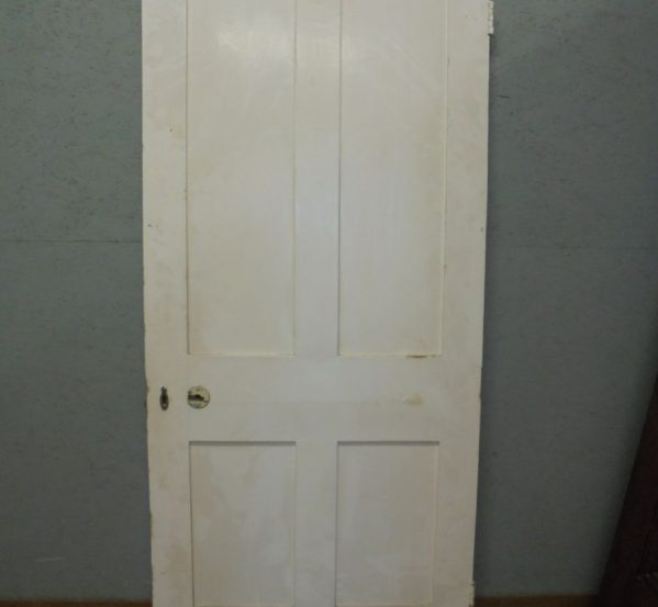 4 Panel Pine Door Painted and Wide