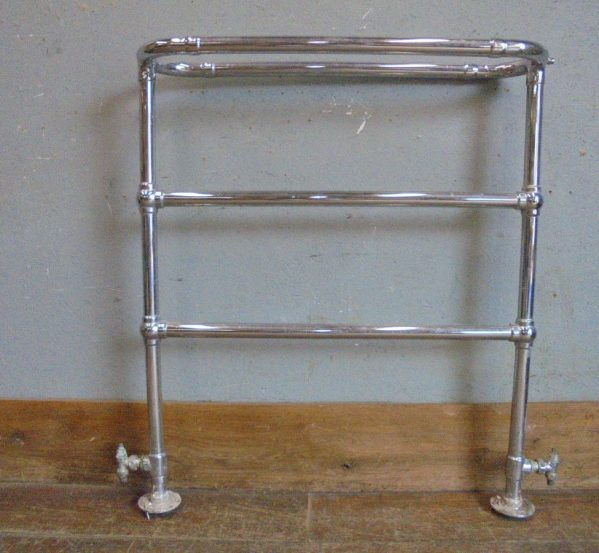 Floor Standing Heated Towel Rail
