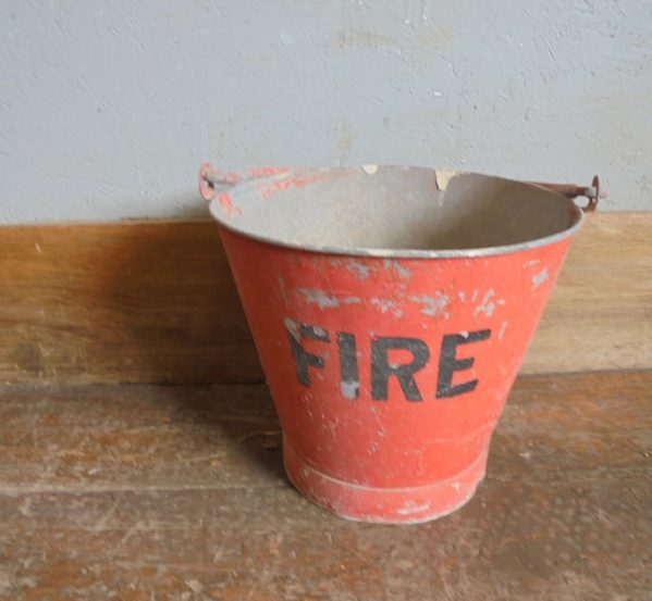 Red Fire bucket