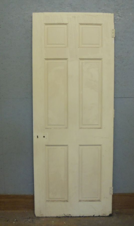 Painted 6 Panel Door