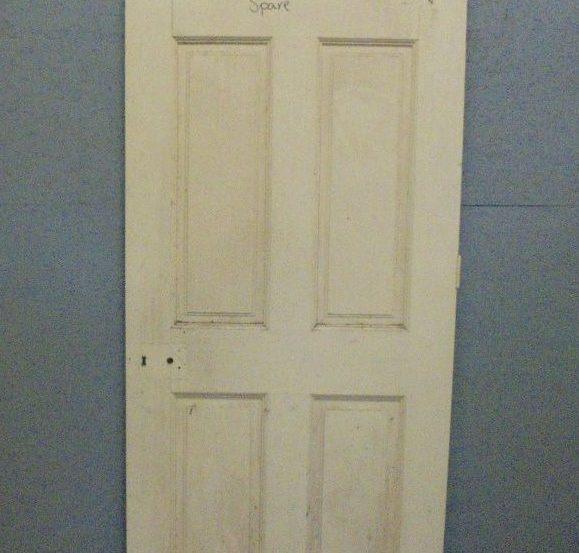6 panel door painted