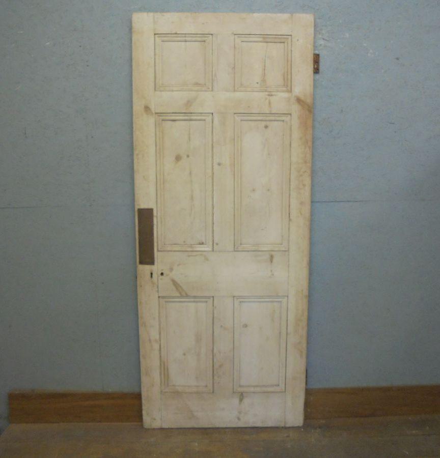 6 Panel Stripped Door
