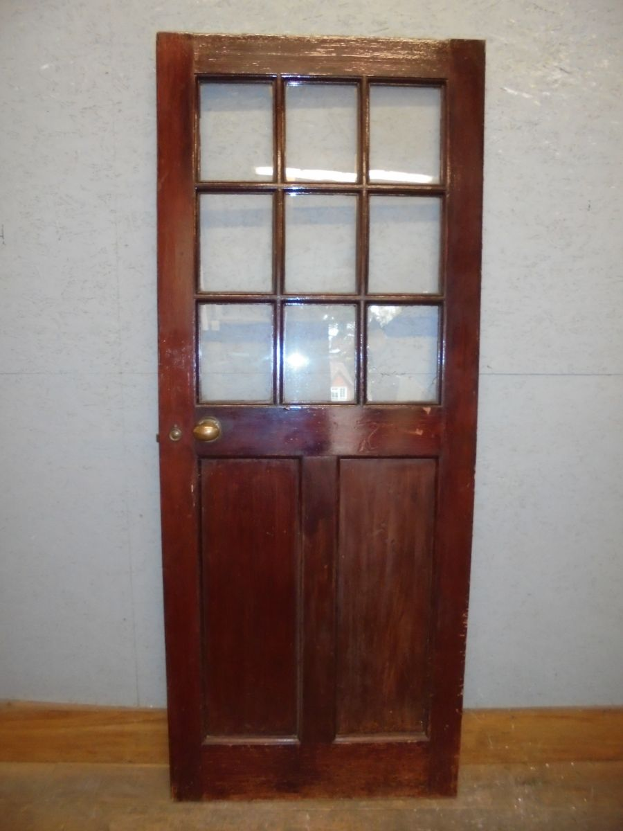 Half glazed exterior Door