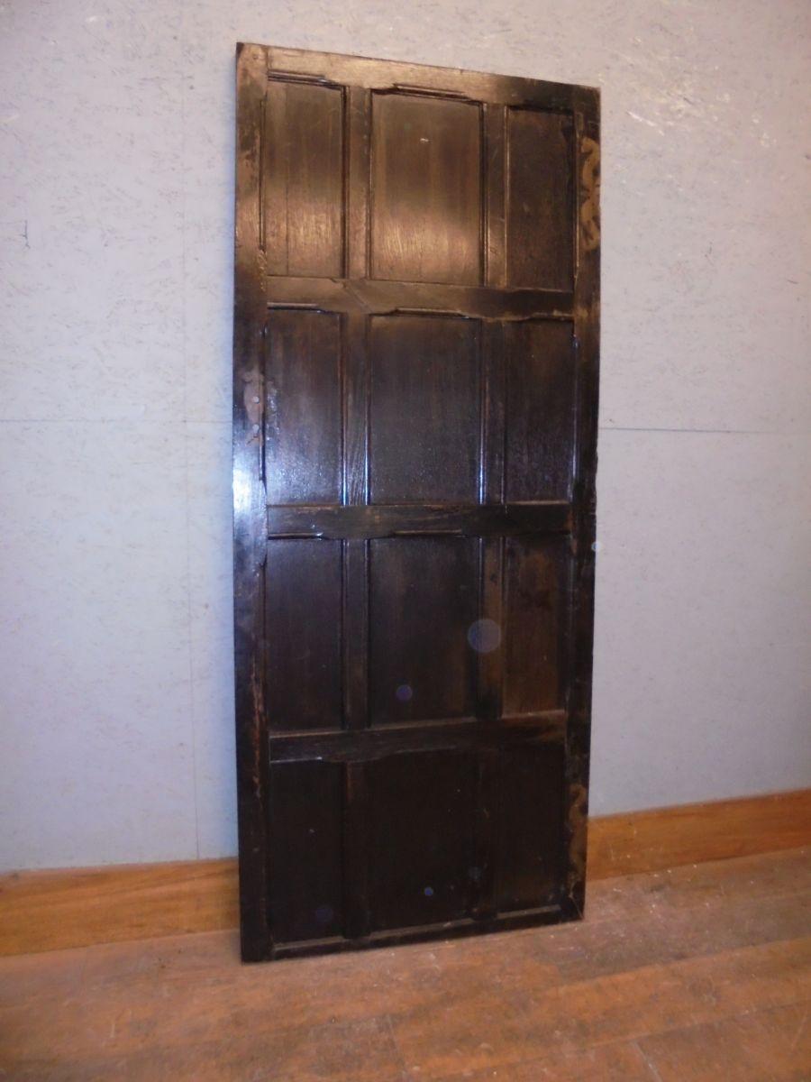 12 Panel Dark Oak Door