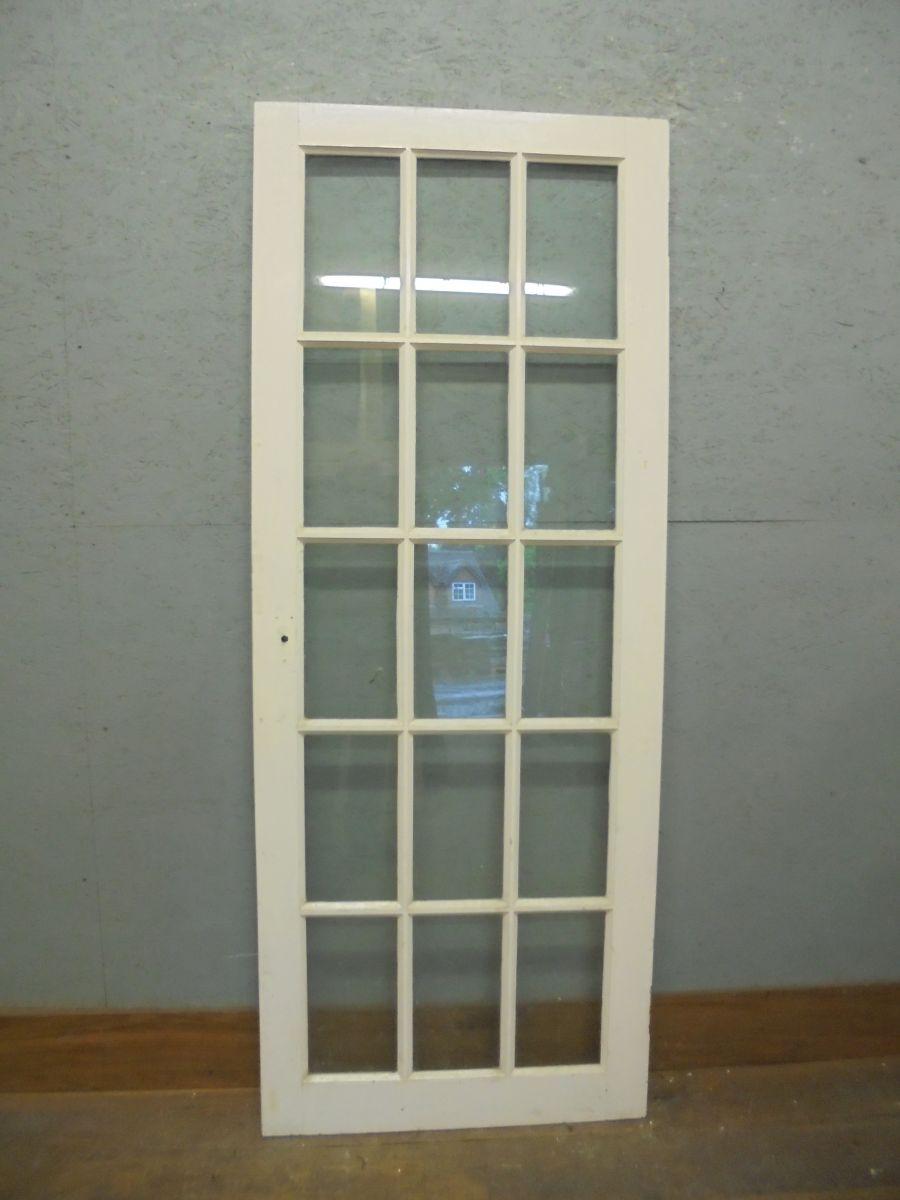 full glazed door