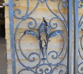 Pair of gates detail