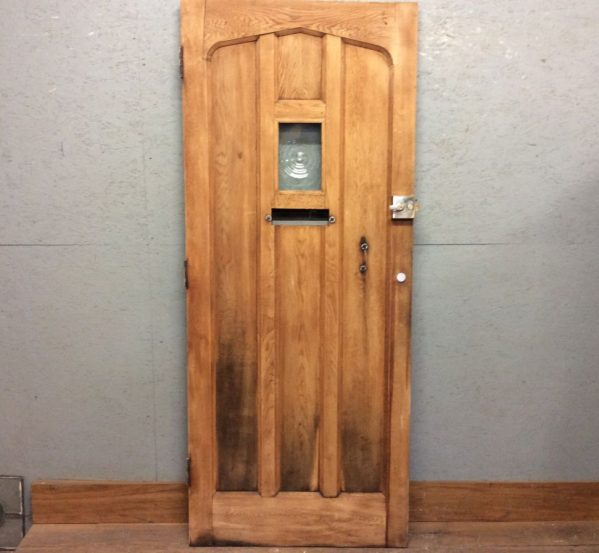Old Style Oak Front Door
