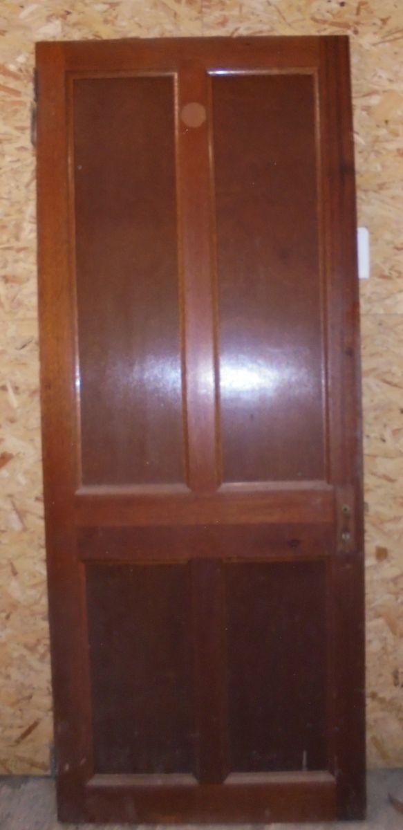 4 panel mahogany door