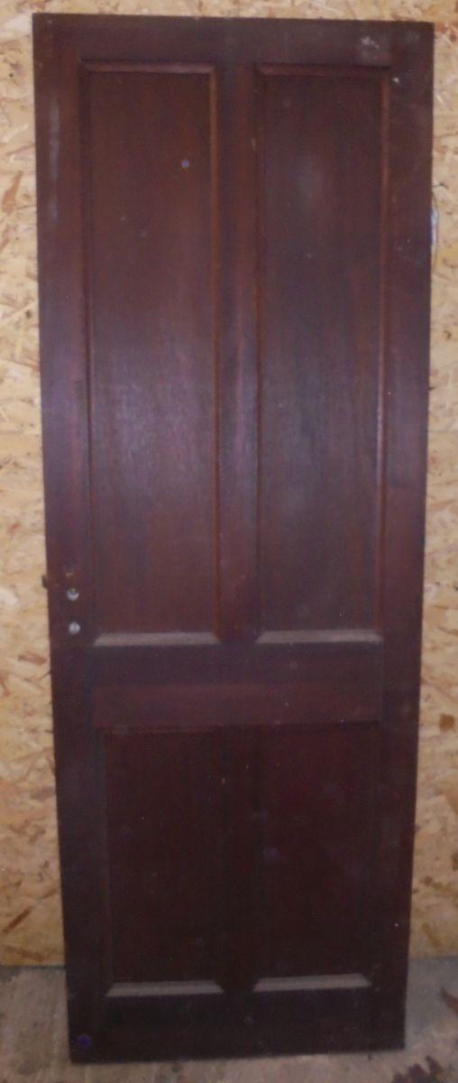 4 panel mahogany