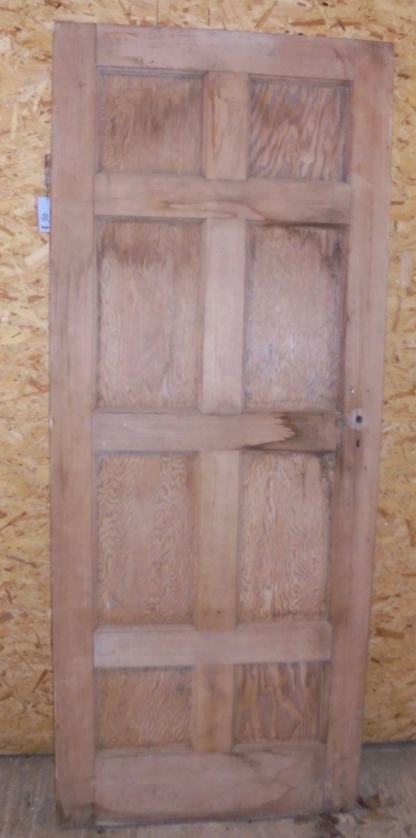 8 panel mahogany