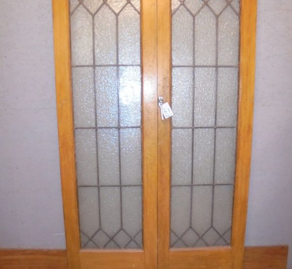 glazed pair of doors