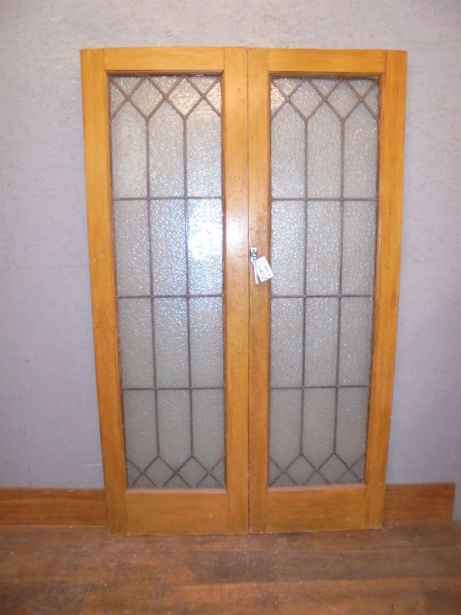 glazed pair of doors