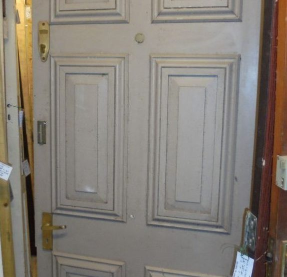 Solid front door