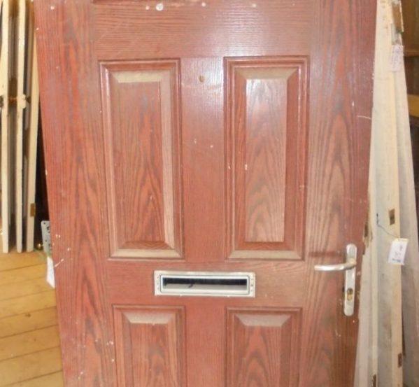 6 panel front door