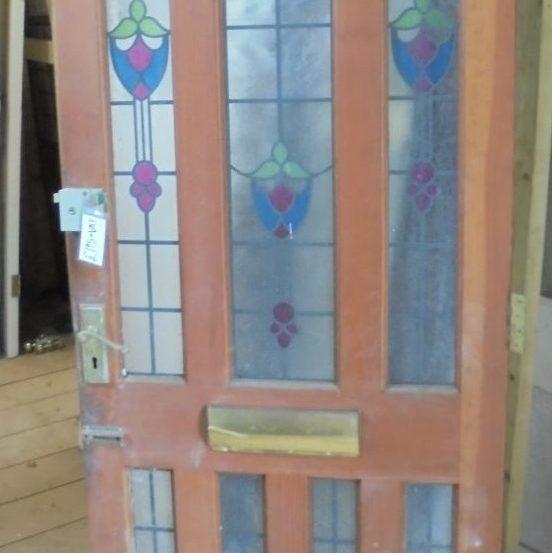 modern style front door