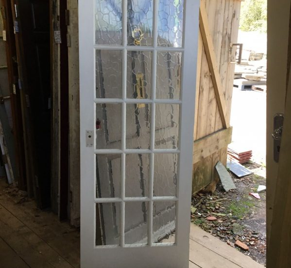 Glazed White Door