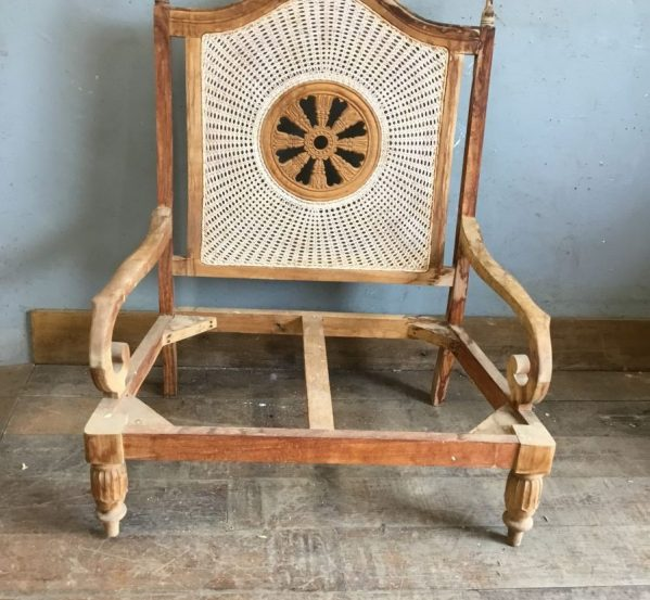 2 Seater Wicker Chair