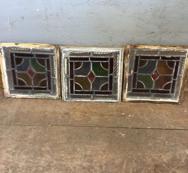 Small Square Stained Glass