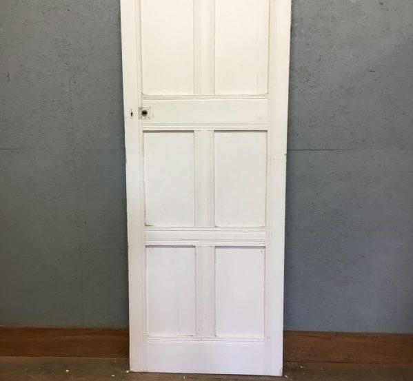 6 panel door white