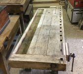 Reclaimed Work Bench