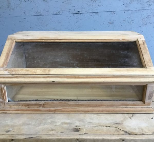 Hard Wood Display Cabinet