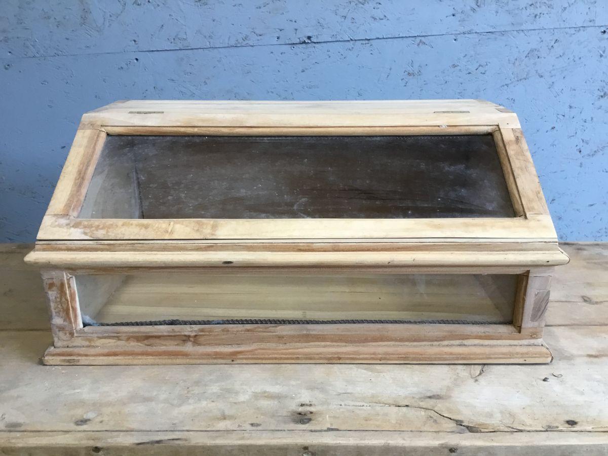 Hard Wood Display Cabinet
