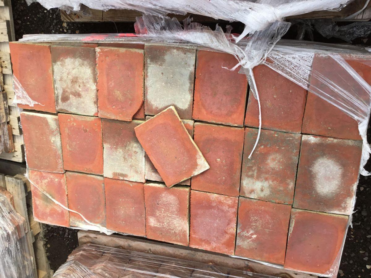 9 1/4 Dark Rectangular French Tiles