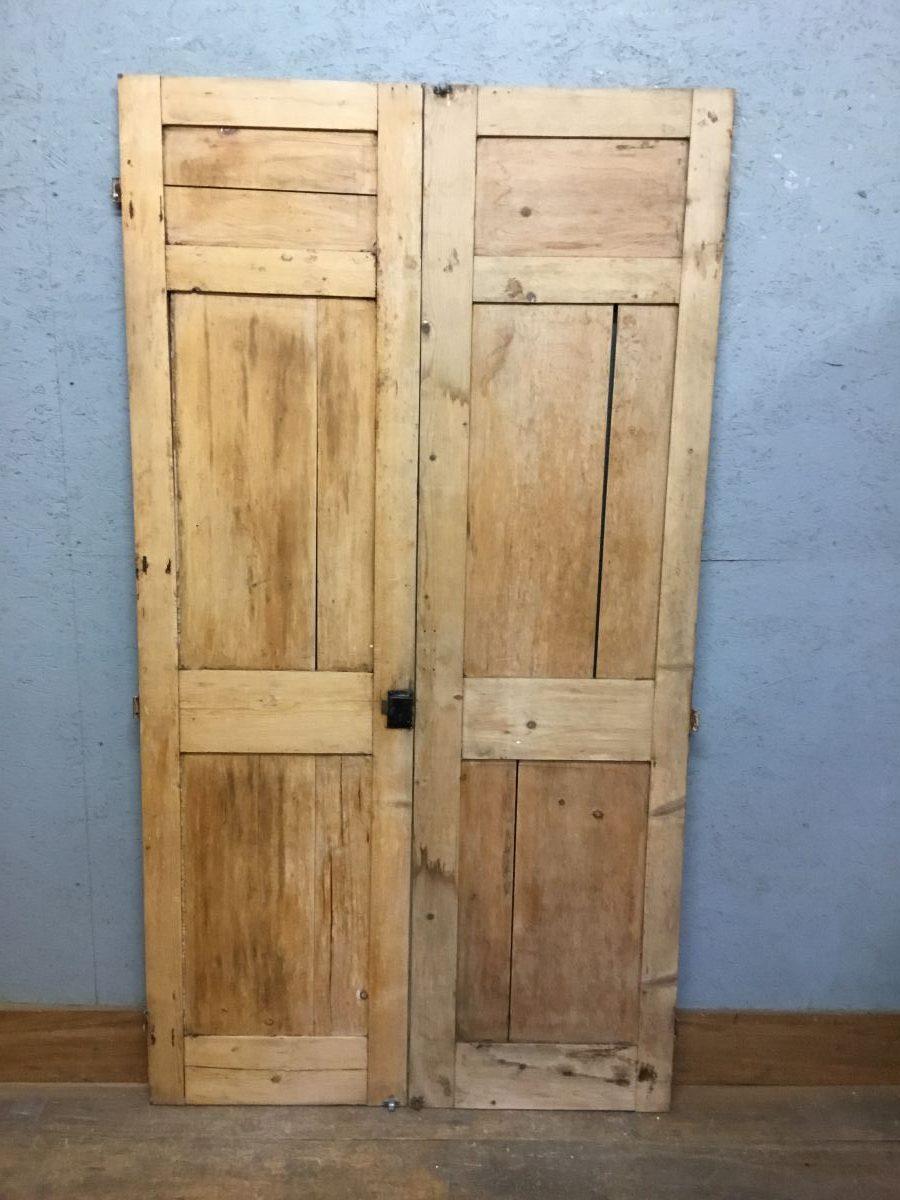 Stripped Pine Wardrobe Doors