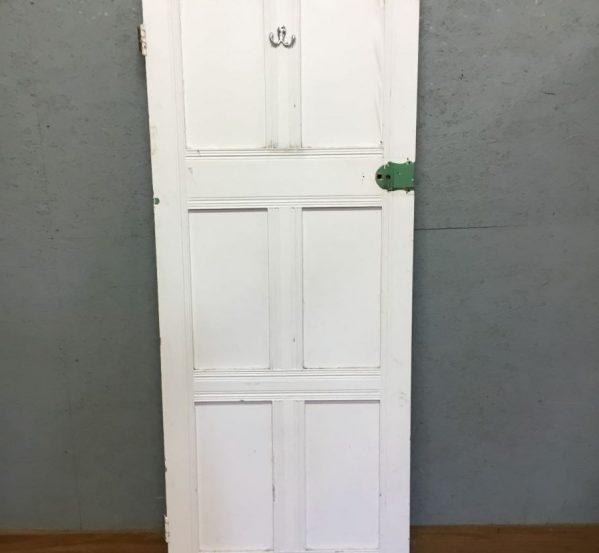 white 6 panel door