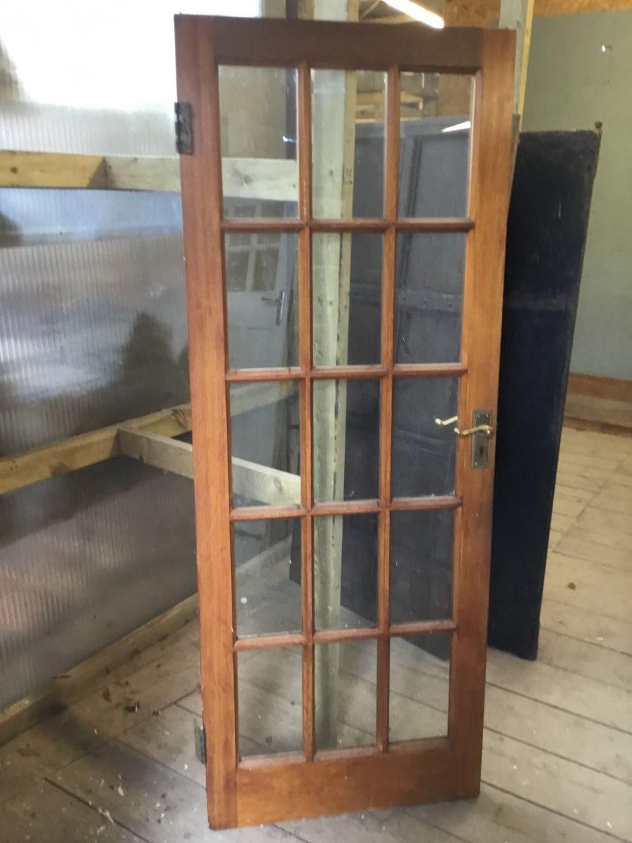 Mahogany Glazed Door