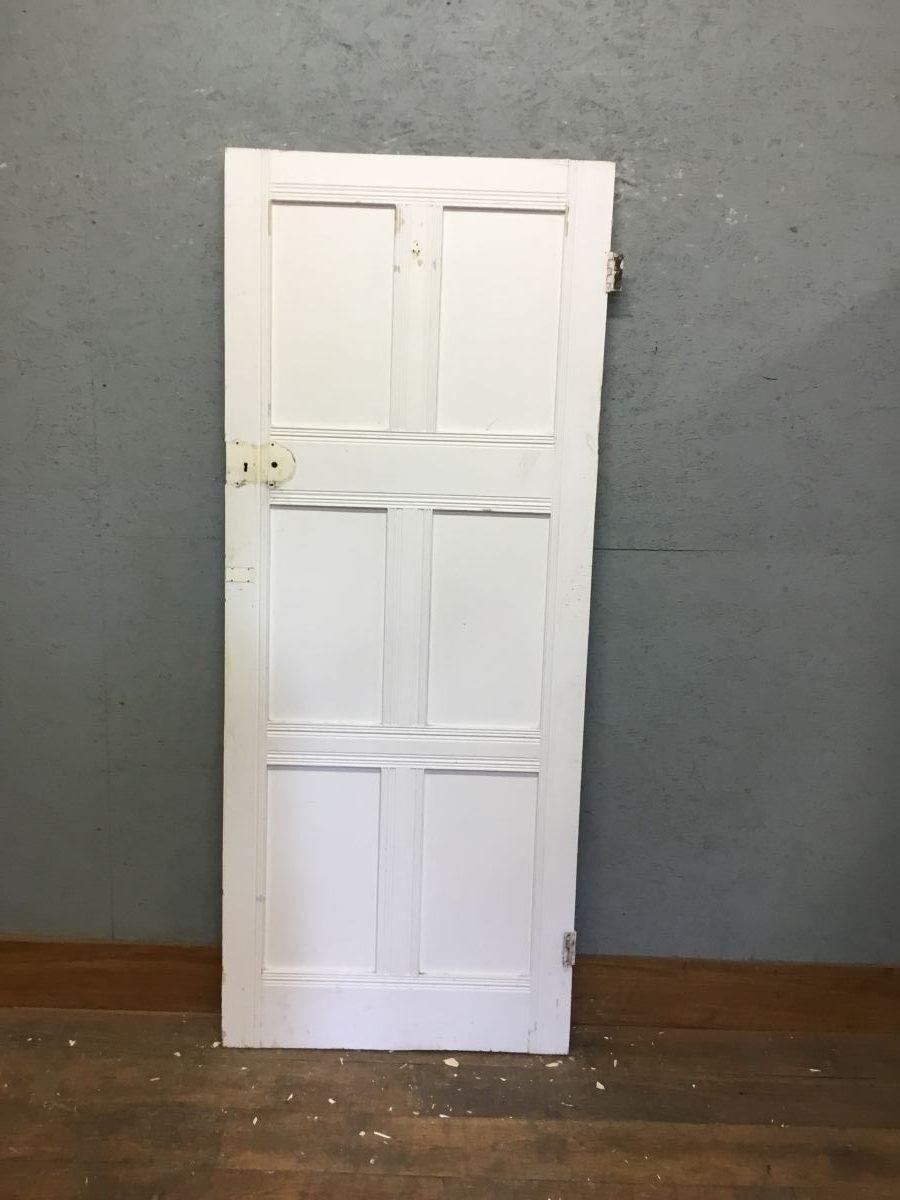 White Door 6 Panel