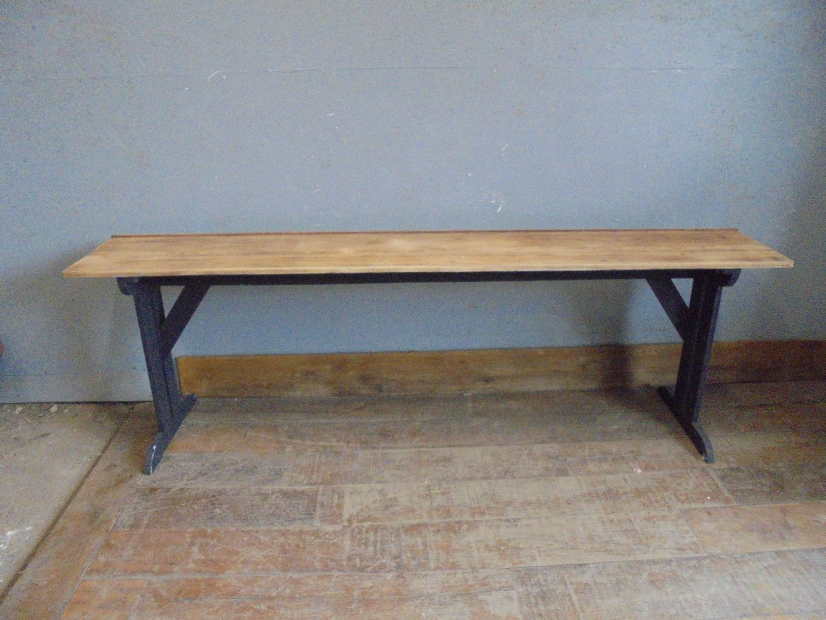 Reclaimed Narrow Pine Table