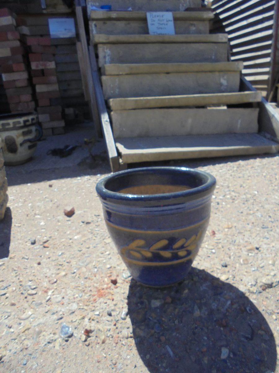Blue Plant Pot