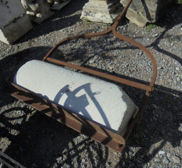 Large Stone Garden Roller