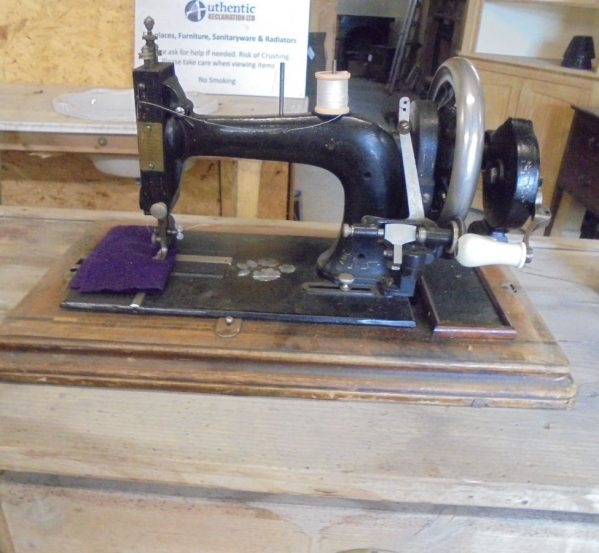 Old Eclipse Sewing Machine